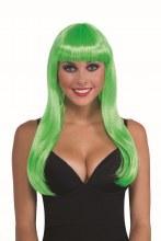 Wig Sassy Neon Green