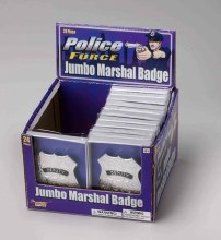 Police Badges Silver