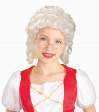 Wig Colonial Child Girl