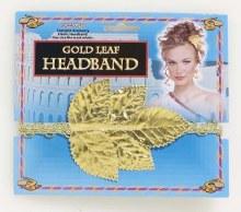 Headband Gold Leaf