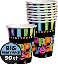 Bright New Year Cups 9oz