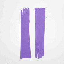 Gloves Elbow Purple Nylon