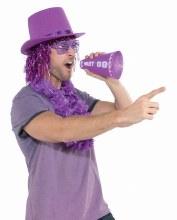 Pom Pom w/ Megaphone Purple