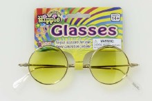 Glasses Hippie Yellow Lenses