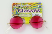 Glasses Hippie Pink Lenses