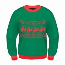 Sweater Reindeer Games L