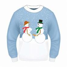 Sweater Snow Couple Lg