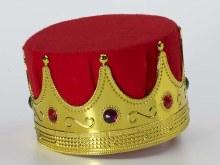 Crown Kings Red Felt