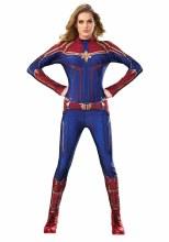 Captain Marvel Suit S