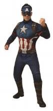 Captain America Muscle Suit Dlx Adult Std Size