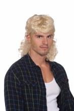 Wig Mullet Man Blonde