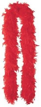 Boa Marabou Red