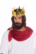 Wig Royal King w/ Beard