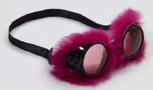 Goggles Fur Pink