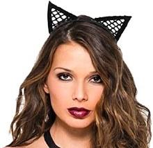 Fishnet Cat Headband