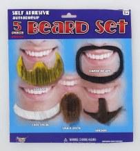 5Pcs Beard Set