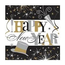 Happy New Year Lunch Napkins