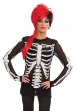 Mesh Skeleton  Shirt