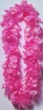 Lei Silk Flower Pink