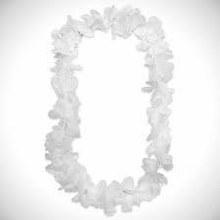 Lei Silk Flower White