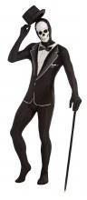 Tuxedo w/Skull Disappearing Man XL