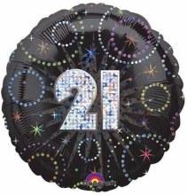 "18"" Birthday Fireworks ""21"""