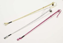 Whip Riding Crop Pink