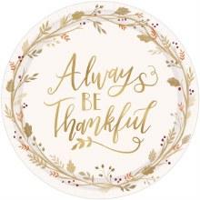 Always Thankful 10.5in Plt