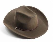 Hat Cowboy Brown Suede