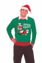 Sweater Naughty Santa M