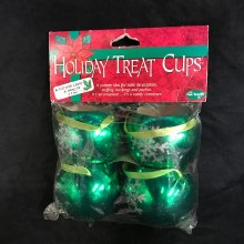 Holiday Treat Cups ~ 4 Pack