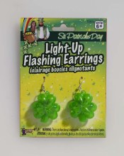 Flashing Shamrock Earrings