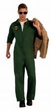 Aviator Jumpsuit Green