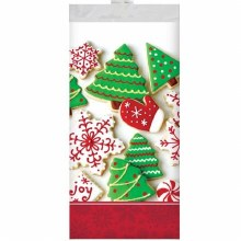 """Holiday Treats Plastic Table Cover ~ 102""""x54"""""""