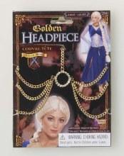 Headpiece Medieval Golden
