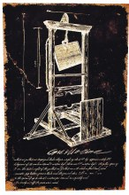 Canvas Print Guillotine