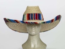 Cowboy Hat Giant Straw