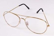 Glasses Aviator Clear