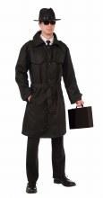 Trench Coat Spy Black
