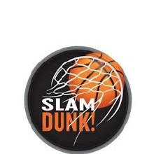 Slam Dunk 7in Plate 8ct
