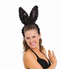 Bunny Ears Black Deluxe