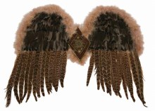 Wings Exotic Feather Owl