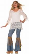 Hippie Crochet Shirt