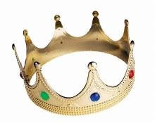 Crown Queen Flat Plastic Child