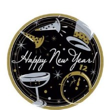 Happy New Year Plates (50ct)