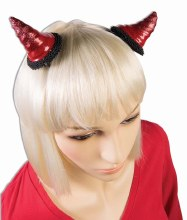 Devil Horns Hair Clips