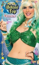 Bikini Top Mermaid Green