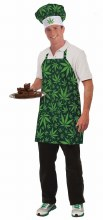 Marijuana Hat & Apron Set