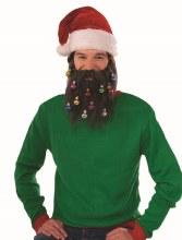 Brown Beard w/ Ornaments
