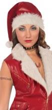 Santa Leather Hat